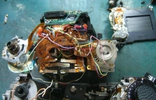 ニコンFAの修理サムネイル