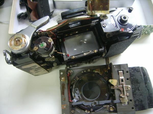 レンズシャッター式一眼レフの修理サムネイル